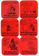 Royaume-Uni Greenall´s 11 Sous Bocks Recto / Verso - Sous-bocks