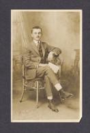 REAL PHOTO CABINET - VRAIS PHOTO POSTCARD - AROUND 1910 -1920 - PHOTO DUN NOTABLE DE JONQUIÈRE - PHOTO J. PLOURDE - Photographie
