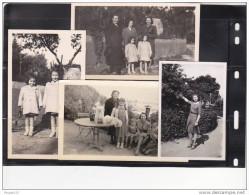 Au Plus Rapide Ensemble 4 Photos Toulon Mourillon 1942 Et 1952 - Lugares
