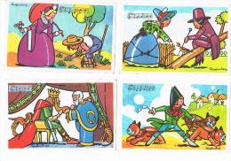 Illustrateur RAYLAMBERT 4 Images Bon Point : éditions éducatives Chansons Françaises Voir Scan - Vieux Papiers