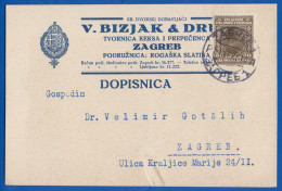 Jugoslawien; Kraljevina PC 50 Pa; 1929 Zagreb - 1919-1929 Königreich Der Serben, Kroaten & Slowenen