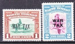 NORTH  BORNEO  M R  1-2   * - North Borneo (...-1963)
