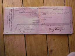 1905, Zahlungverpflichtung Zugunsten Österr. Phönix - Versicherung, - Austria
