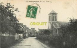 Cpa 35 La Dominelais, Le Bourg, Carte Pas Courante - Frankreich