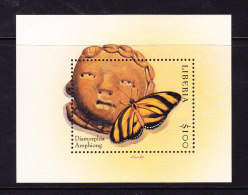 LIBERIA, BUTTERFLIES, PAPILLON, XX. (4F128) - Schmetterlinge