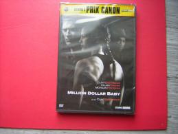 DVD  NEUF SOUS BLISTER   MILLION DOLLAR BABY  UN FILM DE CLINT EASTWOOD  CLINT EASTWOOD  HILARY SWANK  MORGAN FREEMAN - Action, Adventure