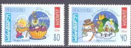 2004. Georgia, Europa 2004, Set, Mint/** - Georgia