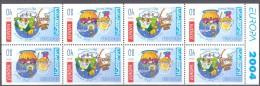 2004. Georgia, Europa 2004, Booklet-pane, Mint/** - Georgia