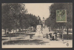 DF / 17 CHARENTE MARITIME / ROCHEFORT / STATUE DE L' AMIRAL PALLIER ET L' HÔPITAL MARITIME - Rochefort