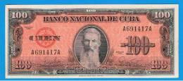 CUBA -  100 Pesos  1959 EBC  P-93 - Cuba