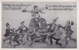 """Dortmund, """"Gruss Aus Der Bierstadt Dortmund"""", Union Bier - Dortmund"""