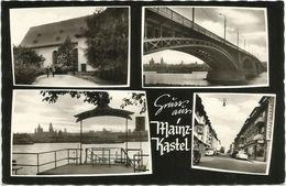 AK Wiesbaden Mainz-Kastel Straßenansicht Mehrbild ~1960 #72 - Wiesbaden