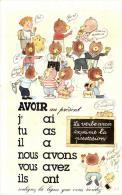 """72971  - Fantaisie   La Grammaire  La Conjugaison   Le Verbe  """"  Avoir """" Indicatif Présent - Fantasia"""