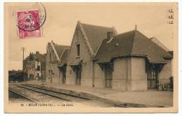 CPSM - MEAN (Loire Inf) - La Gare - France