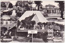 JOUY - Multivues : L´Eure Au Moulin, La Mairie, L´Eglise, Le Moulin De Chardon, Le Moulin De La Roche. - Jouy