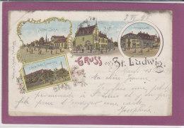 GRUSS AUS ST-LUDWIG - Saint Louis