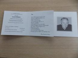 Doodsprentje Daniel Pauwels Lampernisse 8/11/1921 Veurne 15/5/2001 ( Flora Dolfen) - Religion & Esotérisme