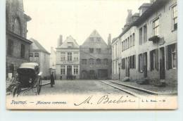 TOURNAI  - Maisons Romanes. - Tournai