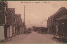 35 BECHEREL - La Route De Combourg - Bécherel