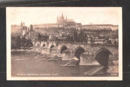 TCHEQUIE  TSCHASLAU  Prague Praha Ungelaufen Unused Bridge - Tchéquie