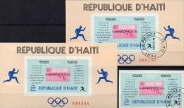 Mexiko 1241 Olympiasieger 1896-1968 Haiti 1047,Block 38 O +Bl.38 ** 23€ Marathon Bloque Sport Bloc Olympic Sheet America - Haïti