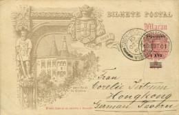 AK Macau Macao Aomén 1901 Paco Real De Cintra - Chine