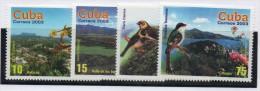 Serie 4111/19  Pajaros Cuba - Birds