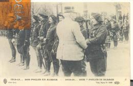 1914-1915  ...NOS POILUS EN ALSACE , Trés Bon état ( Voir Scan ) - War 1914-18