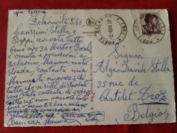 Belgio Namur Citadelle. Carte Envoyée De Zelarino (Italie) -> Belgio 1966 - Namur
