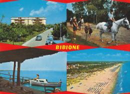 Bibione (VE) - Hotel E Pineda (animata) -   (viaggiata X Germania Il 29/8/1979) - Italia