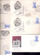 ABRAHAM LINCOLN LOTE LOT DE 5 ARTICULOS DIFERENTES ARGENTINA