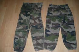 2eme MILITARIA  Deux Le Pantalon - Uniformes