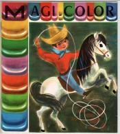 ALBUM A PEINDRE - Année 1950 - Cow-Boys. Réf:1400/19- Maison JESCO-IMAGERIE. Paris. Genève - Voir Les 5 Scannes. - Non Classificati