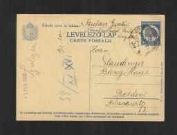 Hungary Stationery 1930 Szentgothard - Postal Stationery