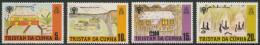 Tristan Da Cunha 1979 Mi 266 /9 YT 263 /6 Sc 264 /7 ** Children's Drawings – Int. Year Of The Child / Kinderzeichnungen - Tristan Da Cunha