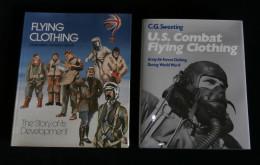 Guerre 39-45 WW2 AVIATION U.S. Combat Flying Clothing Equipement Aviateurs Américains 2 Livres - 1939-45