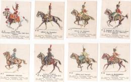 13 Images De L´ARMEE  IMPERIALE ( Collection Des Uniformes De La Grande Armée ) Chacolat De La SUISSE NORMANDE - Chocolate