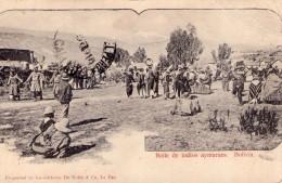 Bolivie..très Animée..Baile De Indios Ayntaraes..Indiens - Bolivia