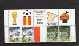 Cuba - Coupe Du Monde De Football 1982 - Oblitérés - Coupe Du Monde