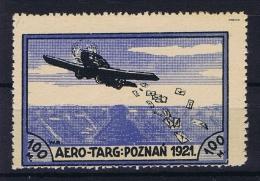Poland: 1921 Mi. II MH/* - Luchtpost