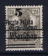 Poland: 1919 Mi 15 II MH/*, CV 95 Euro - ....-1919 Provisional Government