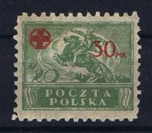 Poland: 1921 Mi 157  MH/* Cat Value 110 Euro - 1919-1939 Republiek