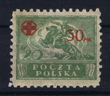 Poland: 1921 Mi 157  MH/* Cat Value 110 Euro - 1919-1939 Republic