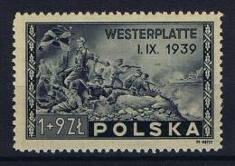 Poland: Mi  407 1945 MNH/** - 1944-.... Republiek