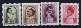 Poland: Mi  511-514, 1948MNH/** - 1944-.... Republiek