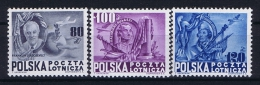 Poland: Mi  515 - 517, 1948 MNH/** Airmail - Luchtpost
