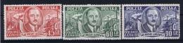 Poland: Mi  702 - 704 1951 MNH/** - 1944-.... Republiek