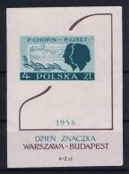 Poland: Mi  Blocks 19   MNH/**  1956 - Blokken & Velletjes