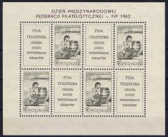 Poland: Mi  1337  Kleinboog 1962 MNH/** - Blocks & Kleinbögen