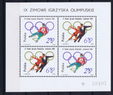 Poland: Mi  Block 32  , 1964 MNH/** - Blocchi E Foglietti